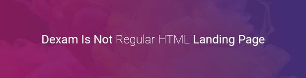 Dexam - Angular Bootstrap App Landing Page - 1