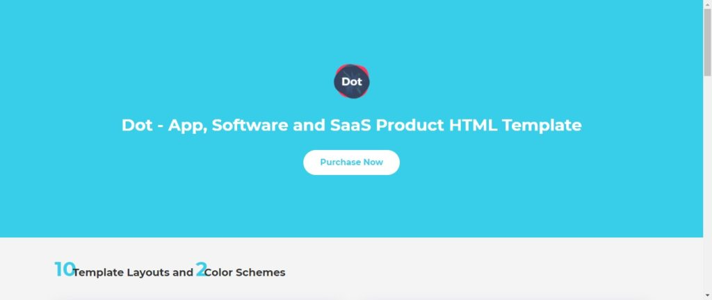 software company landing page templates