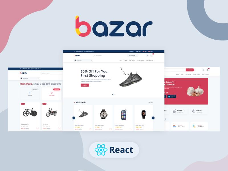 Bazar Pro – Multipurpose React Next.js Ecommerce template